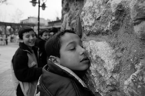 çocuk duvar sevgi duygulu içten
