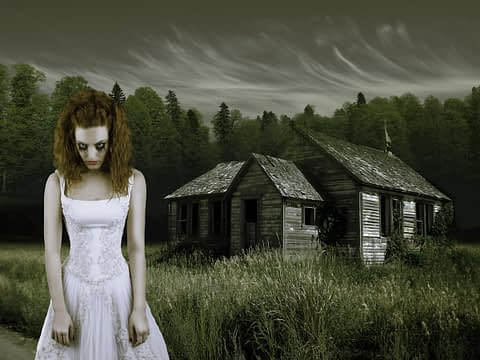 zombi gelin çekim fotoğraf fotoğrafçı reklam fashion photoshop retouch gelin damat