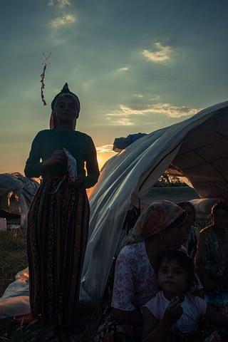 roman çadır kız akşam belgesel