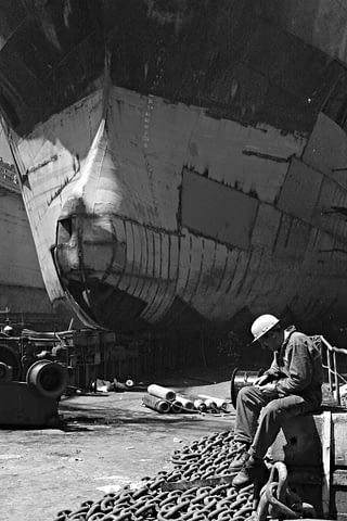 işçi mektup gemi oku siyah beyaz b&w belgesel documentary
