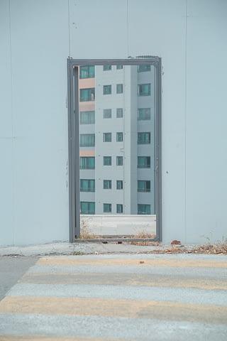 exit çıkış kapı şehir bina garip geçit