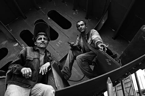 işçi portre siyah beyaz b&w belgesel documentary